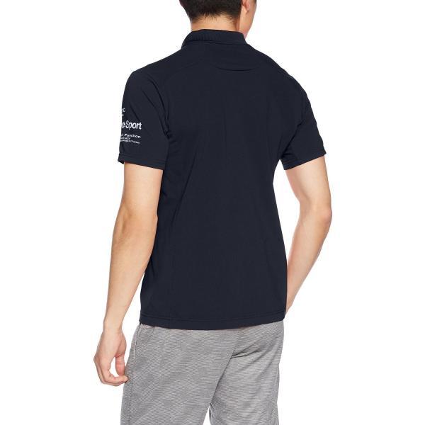 [デサント] トレーニング タフポロライト COOL ポロシャツ MOVESPORTS DMMLJA71 ENV M|punipunimall|02