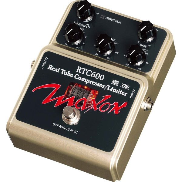 Maxon ギターエフェクター Tube Compressor/Limiter RTC600|punipunimall