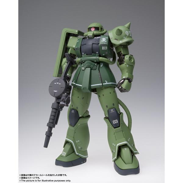 【予約商品】GUNDAM FIX FIGURATION METAL COMPOSITE MS-06C ザクII C型|pur-peo