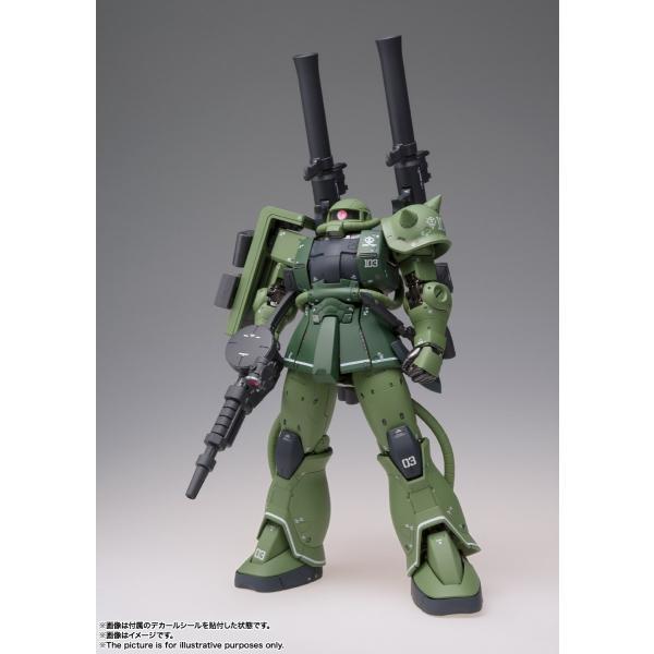 【予約商品】GUNDAM FIX FIGURATION METAL COMPOSITE MS-06C ザクII C型|pur-peo|03