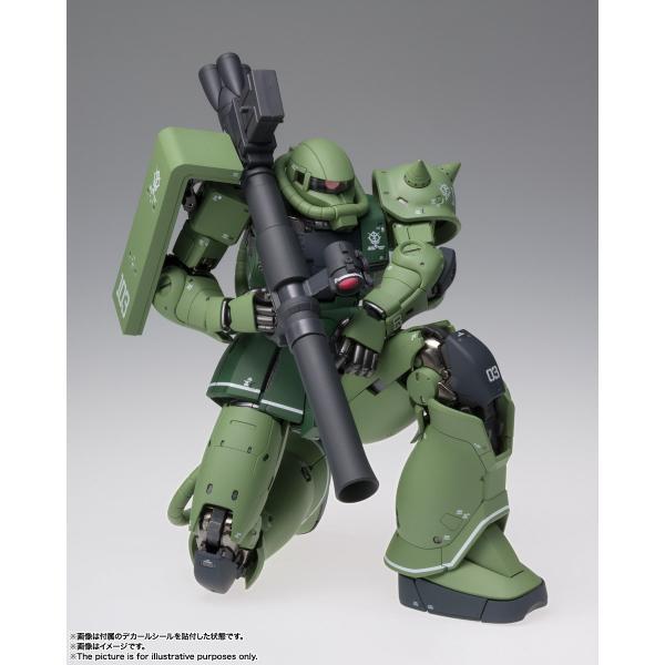 【予約商品】GUNDAM FIX FIGURATION METAL COMPOSITE MS-06C ザクII C型|pur-peo|04