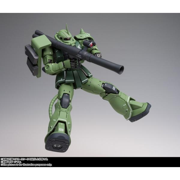 【予約商品】GUNDAM FIX FIGURATION METAL COMPOSITE MS-06C ザクII C型|pur-peo|05