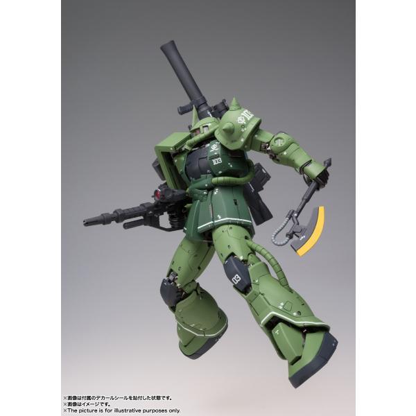 【予約商品】GUNDAM FIX FIGURATION METAL COMPOSITE MS-06C ザクII C型|pur-peo|06
