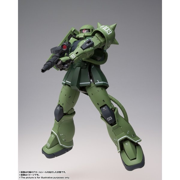 【予約商品】GUNDAM FIX FIGURATION METAL COMPOSITE MS-06C ザクII C型|pur-peo|07