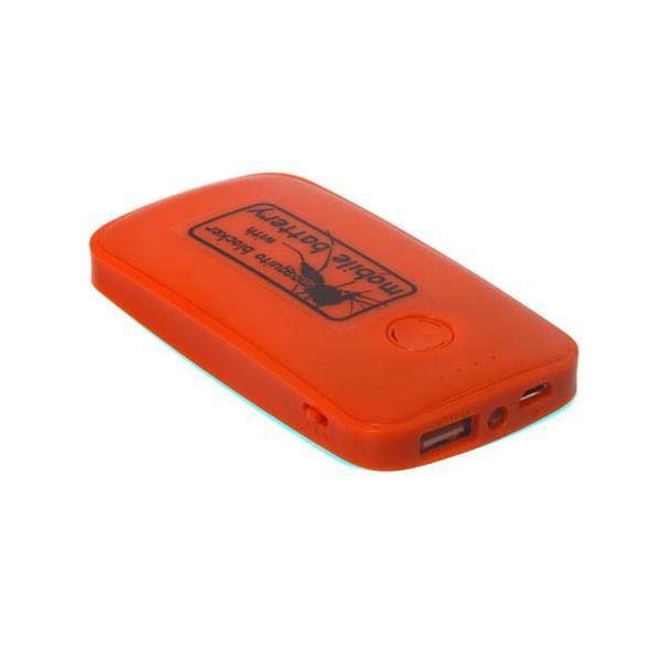 サンコー 蚊よけ付きモバイルバッテリー オレンジ USBTMQ5R ポケモンGO ASN