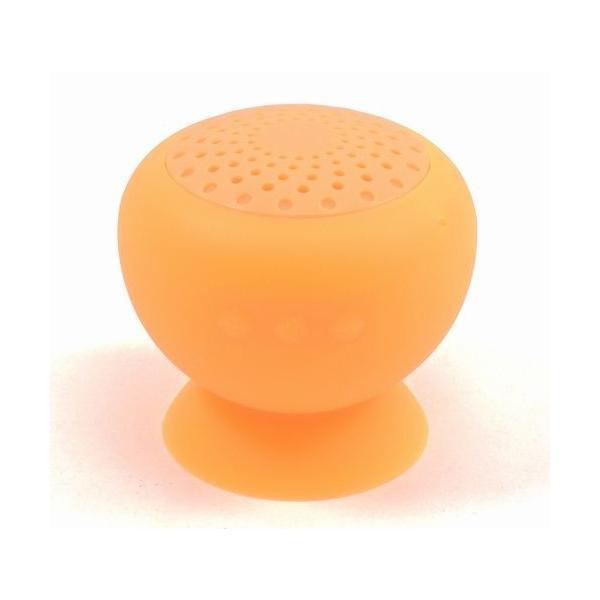 Bluetooth防滴スピーカー オレンジ