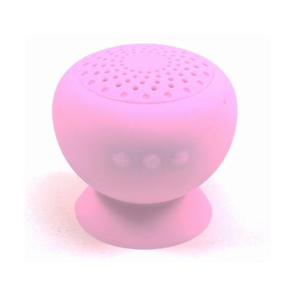 Bluetooth防滴スピーカー ピンク