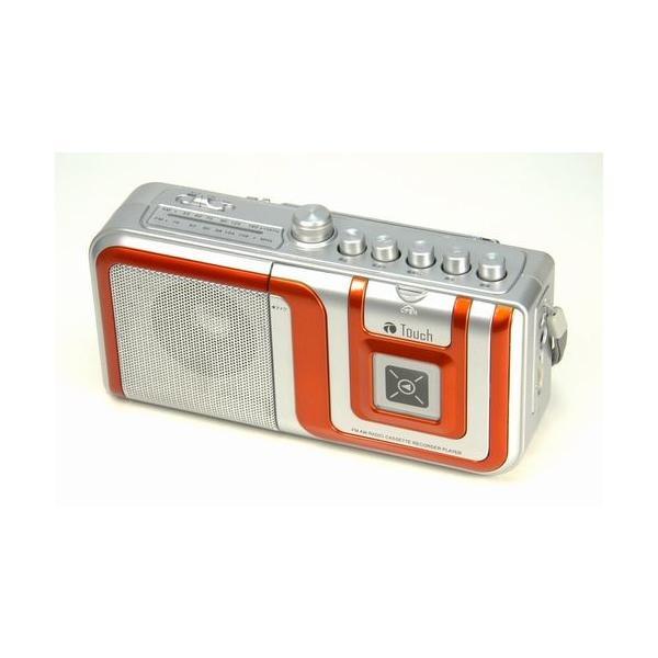 AM/FMラジオ カセットレコーダープレーヤー