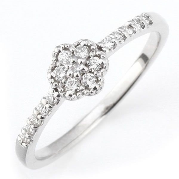 ダイヤモンド指輪 ダイヤモンド ダイヤ リング ダイヤモンド ダイヤリング 指輪 ホワイトゴールド 鑑別書付き 安い