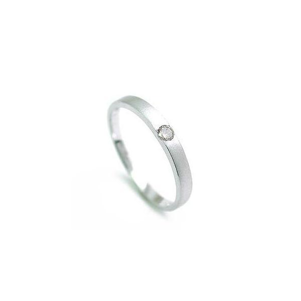 ダイヤモンド指輪 一粒ダイヤモンド リングホワイトゴールドK18指輪ダイヤモンド 安い