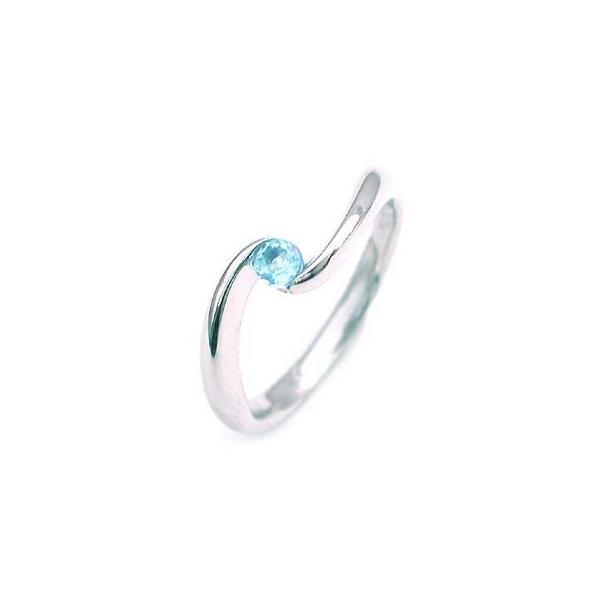 トパーズ ブルートパーズ リング 指輪 11月誕生石 ファッションリング 安い