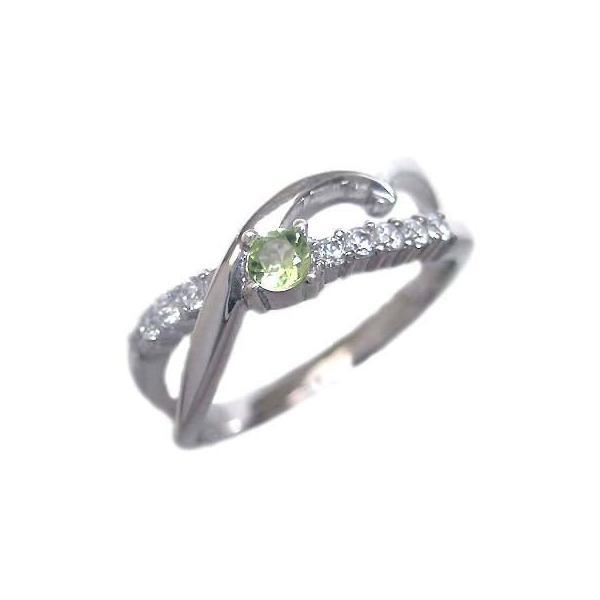 ペリドット 8誕生石 リング 指輪 8月 誕生石 ファッションリング 安い