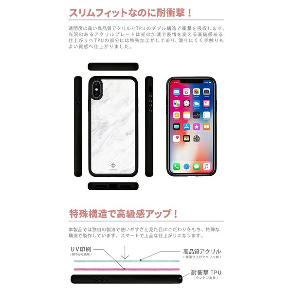 11084c411c ... 耐衝撃 iPhone ケース iPhone8ケース スマホケース 花柄 ボタニカル フラワー ブランド|pure-shop1 ...