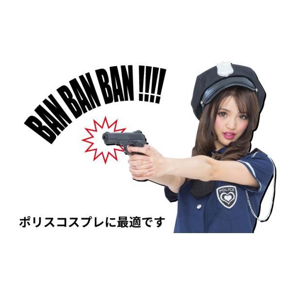 ピストル ガン おもちゃ プラスチック トイ 鉄砲 銃 プラスチックトイ 黒|pure2009|03