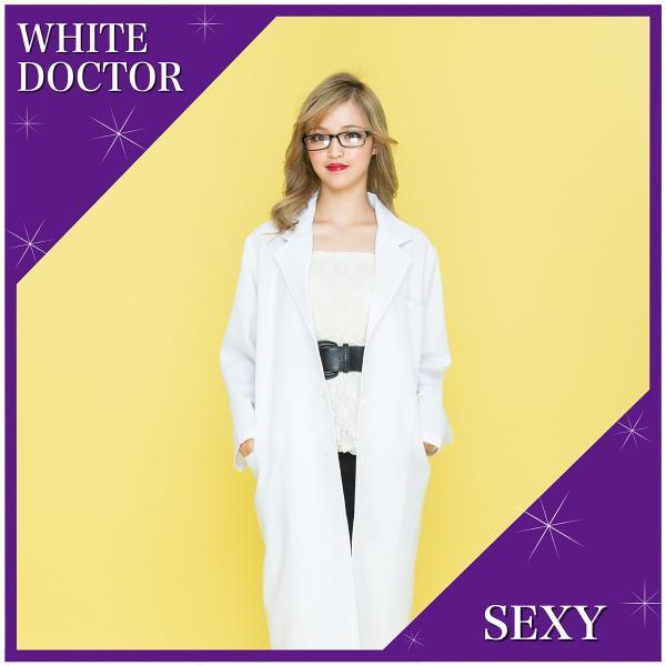 コスプレ ドクター 白衣 ホワイト 医者 ナース|pure2009|02
