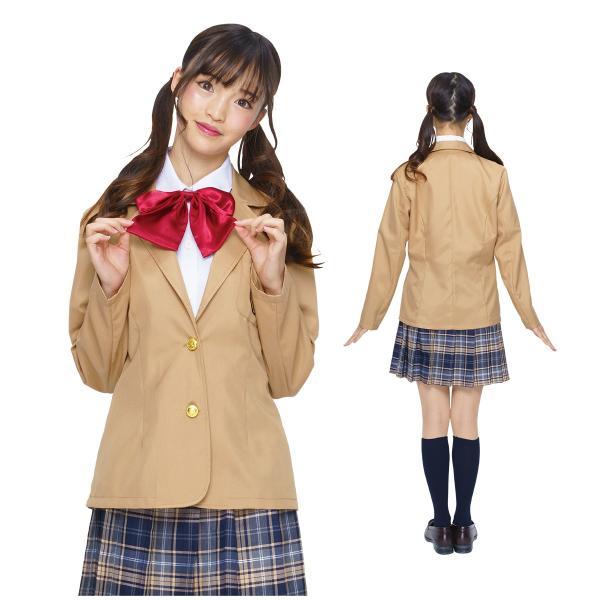 コスプレ ブレザー 制服 スクール 女子高生 衣装|pure2009