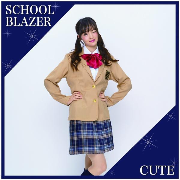 コスプレ ブレザー 制服 スクール 女子高生 衣装|pure2009|02