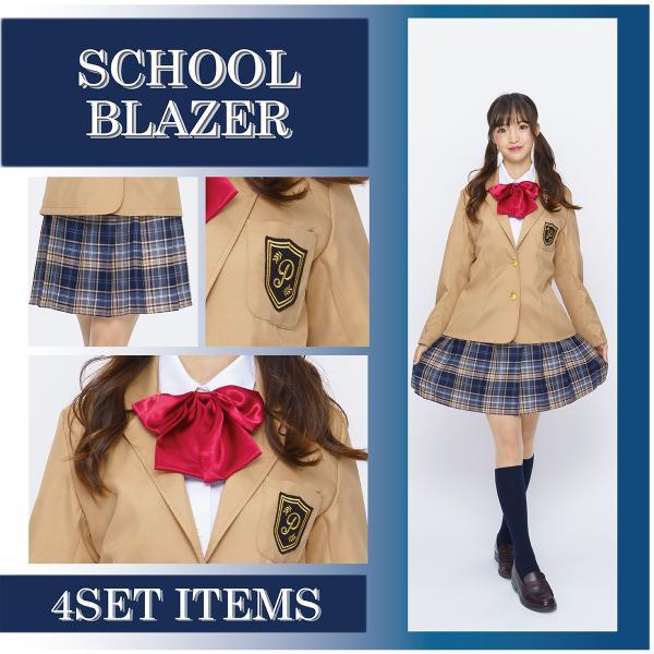 コスプレ ブレザー 制服 スクール 女子高生 衣装|pure2009|04