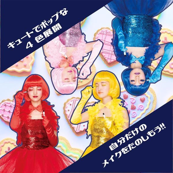 カラフルマスカラ 全4色 セサミストリート マスカラ セサミ コスメ メイク pure2009 03