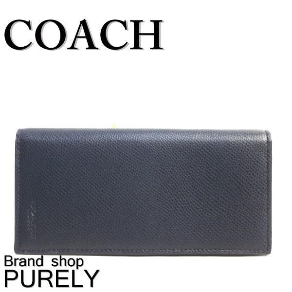 7e56e22f47e5 全品ポイント2倍 コーチ COACH 財布 メンズ クロスグレイン レザー ブレスト ポケット ウォレット 長財布 ...