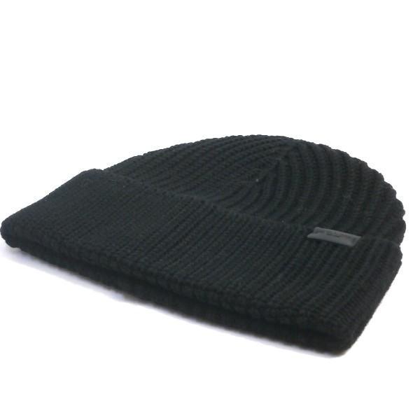 COACH コーチ 帽子 メンズ アウトレット リブ ニット ハット F85140 BLK ブラック|purely|02