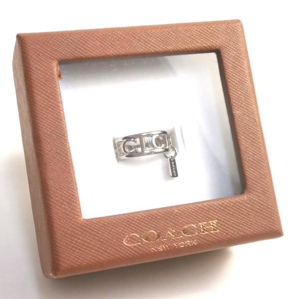 e6e196853257 ... 全品ポイント2倍 コーチ COACH アクセサリー リング 指輪 レディース シグネチャー シルバー リング 指輪 F90750 SLV