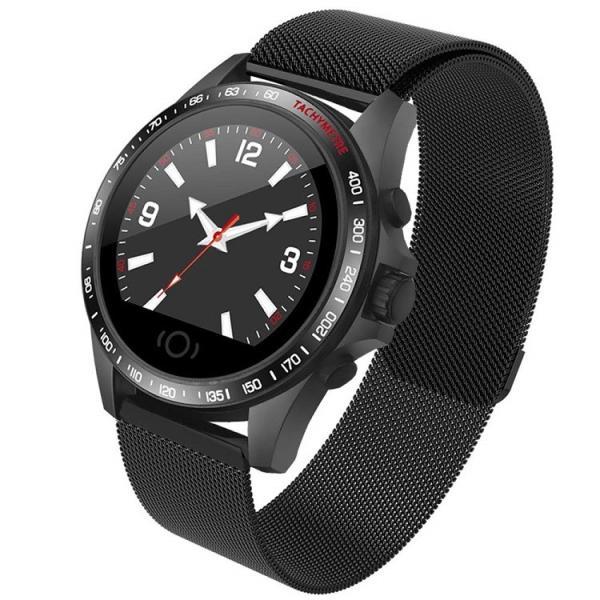 e5771c771e Helius スマートウォッチ 2019 最新 スマートブレスレット 血圧計 心拍計 GPS 大画面 超軽量