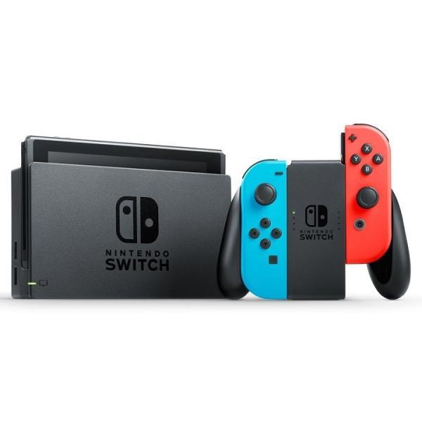 ニンテンドースイッチ 本体 ネオン Nintendo Switch Joy-Con (L) 本体 ネオンブルー/ (R) ネオンレッド 任天堂 | ニンテンドー スイッチ 本体 任天堂スイッチ|puremiamuserekuto-2|03