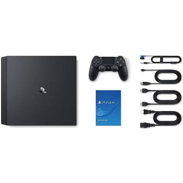 PlayStation 4 Pro ジェット・ブラック 2TB (CUH-7200CB01) ソニー・インタラクティブエンタテインメント|puremiamuserekuto-2|02