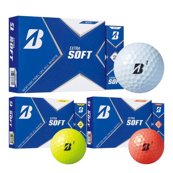 ブリヂストンゴルフエクストラソフトゴルフボール1ダース12球入2021年モデル