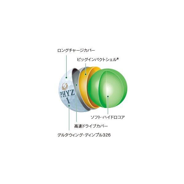 ゴルフボール ブリヂストン ファイズ 1ダース  2017 日本正規品 即納|puresuto|08