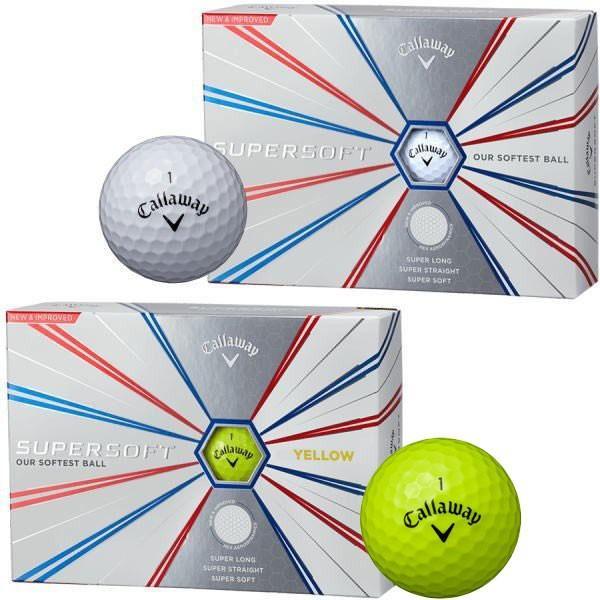 キャロウェイ スーパーソフト ゴルフボール 1ダース|puresuto