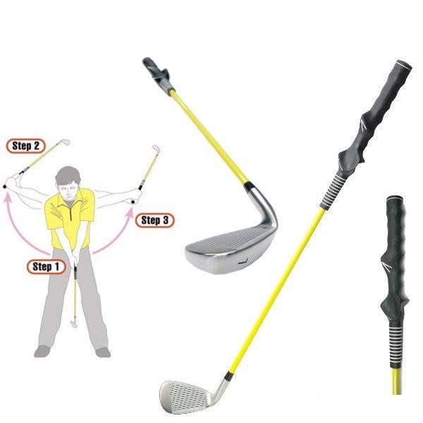 ゴルフクラブのお供に!スイング練習器具!