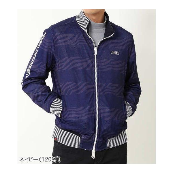 5d3ddcf4247a4 ... ニューバランスゴルフ リバーシブル ボンバー ジャケット メンズ 012-9120005 即納|puresuto| ...