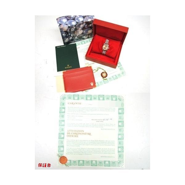【OH済】ROLEX ロレックス デイトジャスト 10Pダイヤ レディース腕時計 69174G 機械式自動巻 ピンク 6746 purishonten 06