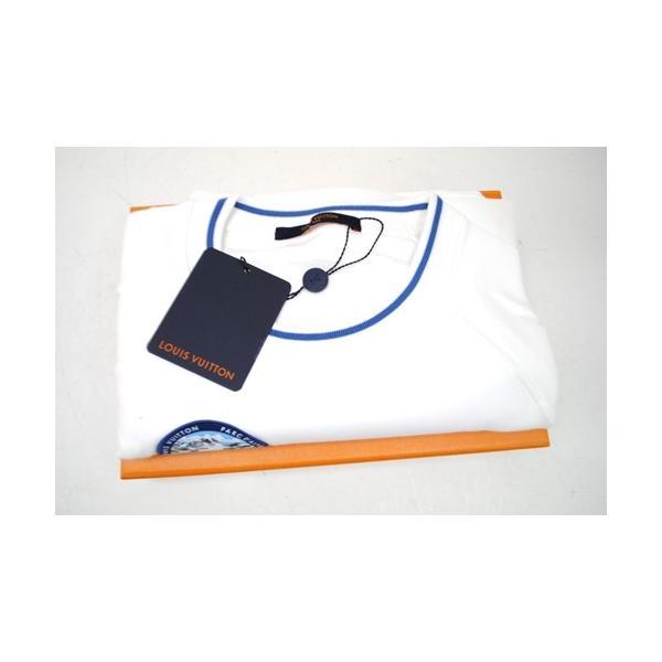 LOUIS VUITTON ルイ・ヴィトン Tシャツ ナショナルパーク・パッチショートスリーブ 1A4JLD クルーネック メンズ Mサイズ 未使用 6779|purishonten|07