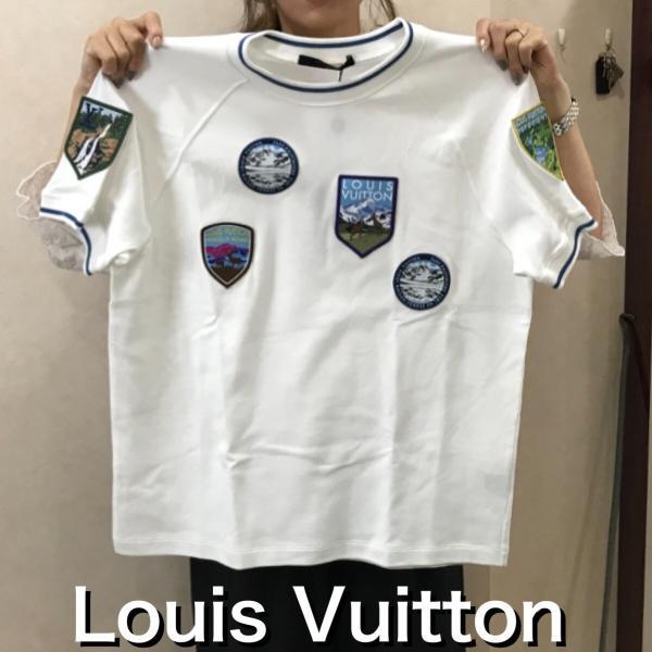LOUIS VUITTON ルイ・ヴィトン Tシャツ ナショナルパーク・パッチショートスリーブ 1A4JLD クルーネック メンズ Mサイズ 未使用 6779|purishonten|08