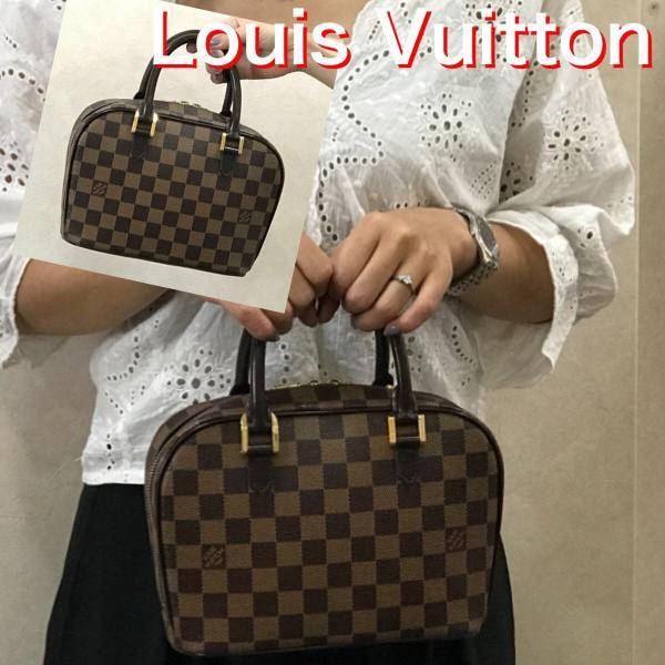 LOUIS VUITTON ルイ・ヴィトン ダミエ サリア・ミニ ハンドバッグ N51286 レディース ブラウン 6783|purishonten|08