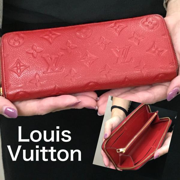 LOUIS VUITTON ルイ・ヴィトン アンプラント ポルトフォイユクレマンス ラウンドファスナー長財布 M60169 レディース 6867|purishonten|08