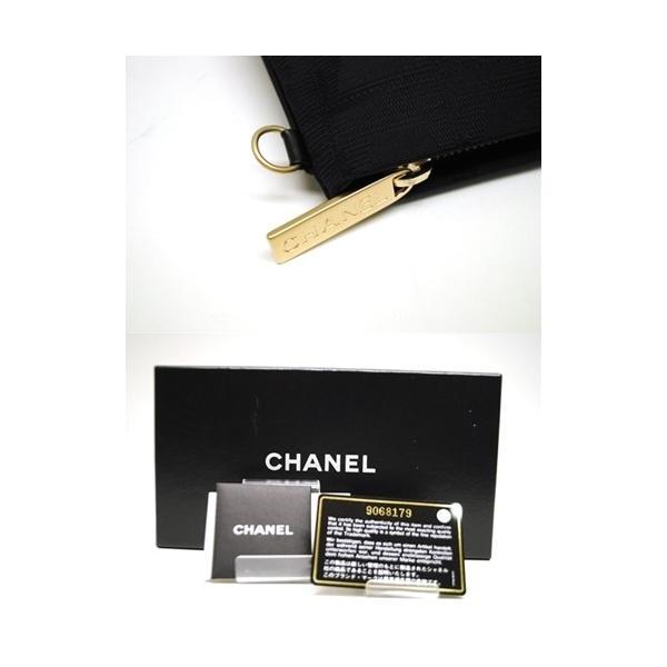 CHANEL シャネル ニュートラベルライン ポーチ ナイロン ブラック レディース バッグ 未使用 6876|purishonten|07