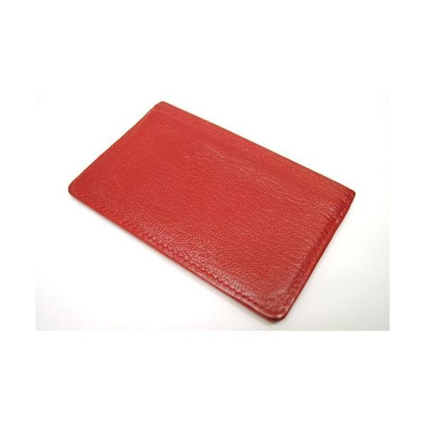 CHANEL シャネル ココマーク カードケース パスケース 定期入れ レッド レディース 6884|purishonten|03