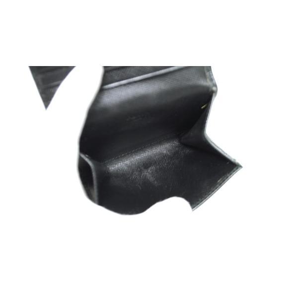 PRADA プラダ サフィアーノレザー カードケース 名刺入れ ブラック メンズ レディース 6893|purishonten|04