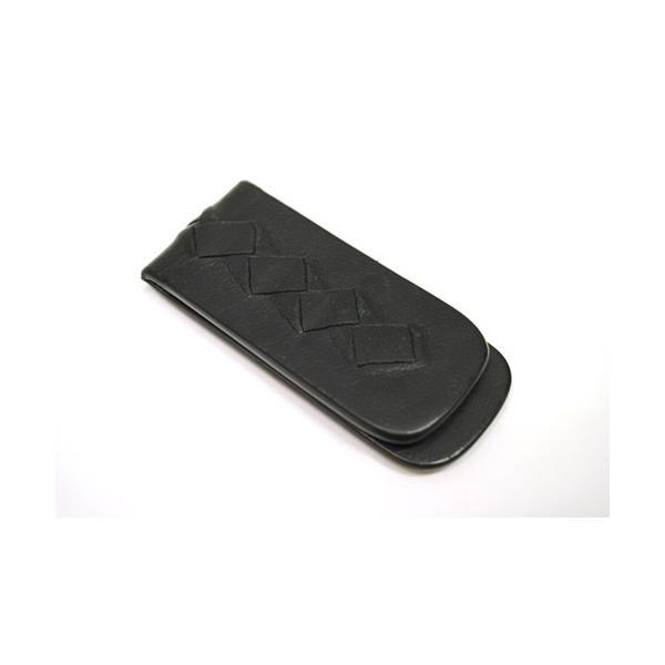 BOTTEGA VENETA ボッテガヴェネタ イントレチャート マネークリップ 小物 財布 メンズ ブラック 6901|purishonten|03
