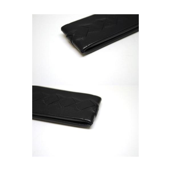 BOTTEGA VENETA ボッテガヴェネタ イントレチャート マネークリップ 小物 財布 メンズ ブラック 6901|purishonten|05