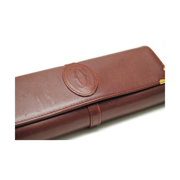Cartier カルティエ マストライン メガネケース サングラスケース メンズ レディース 6911|purishonten|06