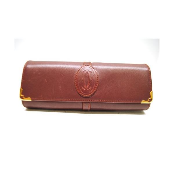 Cartier カルティエ マストライン メガネケース サングラスケース メンズ レディース 6911|purishonten|07