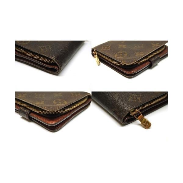 LOUIS VUITTON ルイヴィトン モノグラム コンパクトジップ 二つ折り財布 M61667 レディース メンズ 6912|purishonten|06