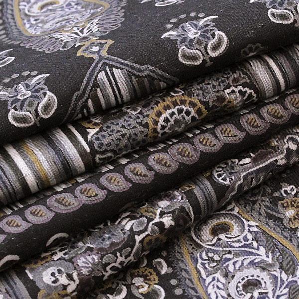 未使用 展示品 袋帯 正絹 着物 きもの 牛首紬 無形文化財 伝統工芸品 和装 リサイクル|purpose-inc|04