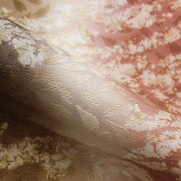 未使用 展示品 袋帯 正絹 桜 赤茶 着物 きもの リサイクル|purpose-inc|03