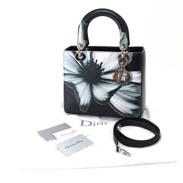 未使用 展示品 クリスチャン ディオール Cristian Dior レディディオール ハンド バッグ 花柄 フラワー M0550PCFB/M911|purpose-inc|02